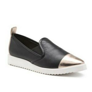 Karl Lagerfeld Shoes - NEW Karl Lagerfeld Cler Slip On Sneaker Leather
